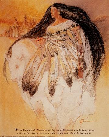 Buy White Buffalo Woman Legend poster at art.com