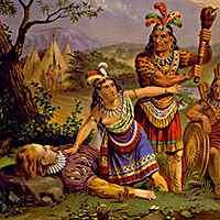 Pocahontas Saves Captain John Smith