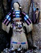 plains indian no face doll