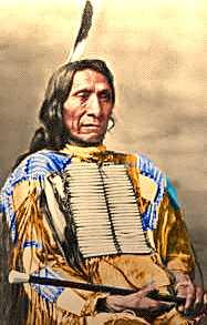 Red Cloud, Lakota Oglala chief