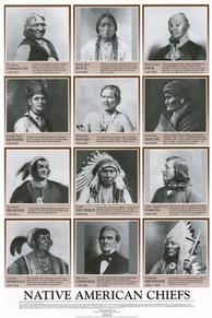 buy native american chiefs poster<br />
