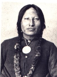 Rain-in-the-Face, Hunkpapa Sioux warrior, in his later years