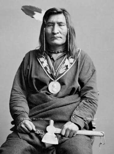 Little Shell III, Turtle Mountain Chippewa Chief