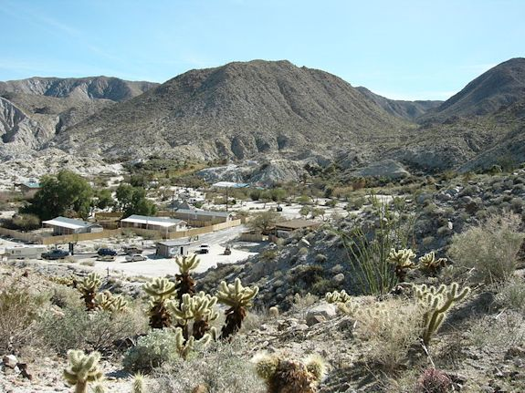 Agua Caliente Reservation in California