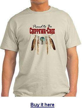 Chippewa Cree t-shirt