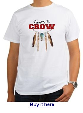 Buy a Crow tribe t-shirt