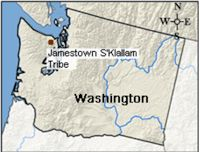 Jamestown S'Kallam Map