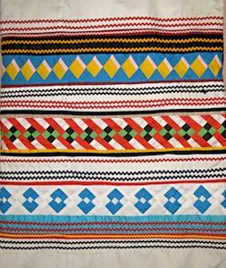 Seminole Patchwork Shawl