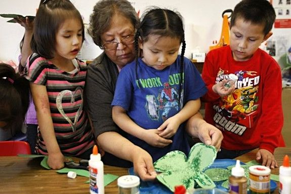 Shoshone children