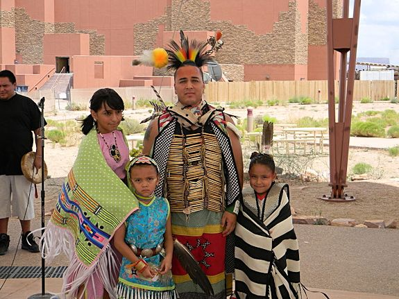 Hualapai Indian people at annual pow wow
