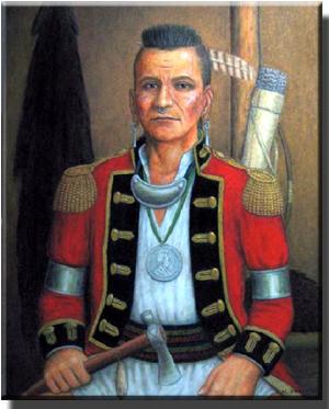 Chief Blue Jacket, Shawnee leader
