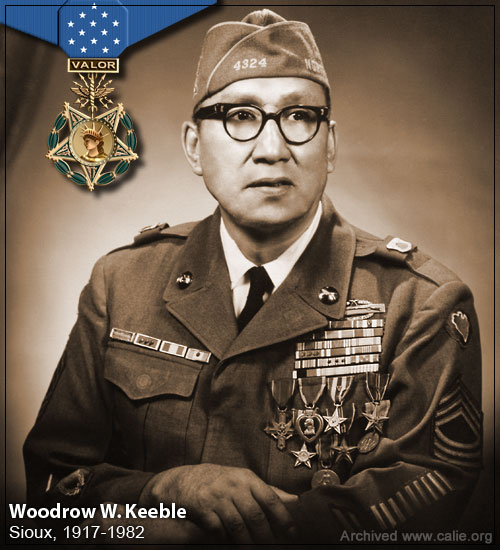 Woodrow W. Keeble, Medal of Honor Recipient