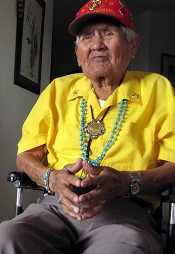Chester Nez, last of the Navajo Code Talkers