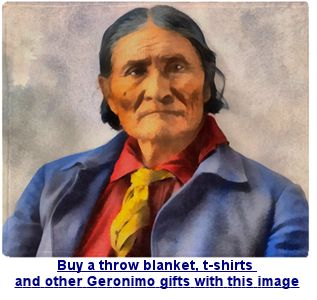 Buy Geronimo gifts and t-shirts