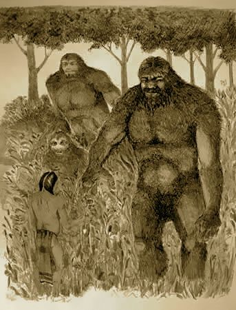 Native american giants