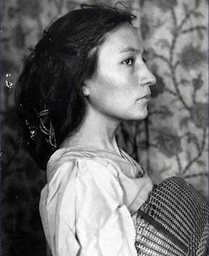 Zitkala-Ša (Red Bird) also known as Gertrude Simmons Bonnin