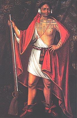 Sa Ga Yeath Qua Pieth Tow or Sagayeathquapiethtow, Mohawk King of Maguas