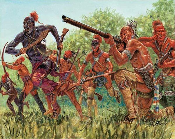 Indians who fought in the French and Indian War